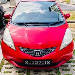 Honda Fit 1.3A G (Rental)