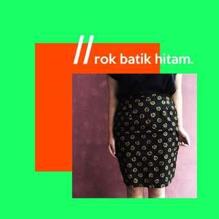 Rok Batik Hitam