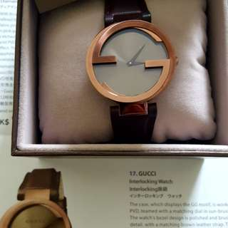 Authentic Gucci Interlocking ladies watch