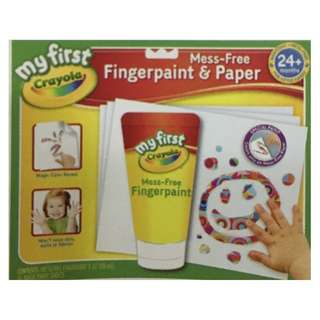 Crayola - Mess-Free Fingerpaint & Paper