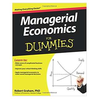 Managerial Economics For Dummies  2013 by Robert Graham  (Author)