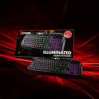 """Champ Gaming Keyboard """"We guaranteed easy and fast transaction with us"""""""