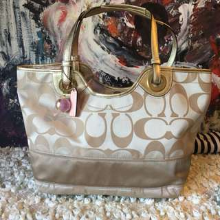 Lv shoulder bag coach good condition