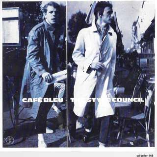 MY CD - CAFE BLEU - THE STYLE COUNCIL/FREE DELIVERY BY SINGPOST