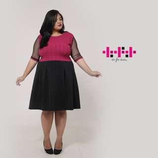 Dress BIG SIZE TFD - PINK