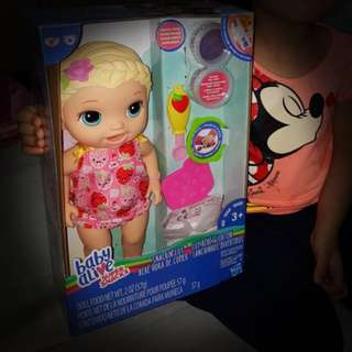 Baby Alive Snakin Lily Doll