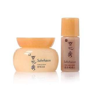 Sulwhasoo - essential firming cream EX $ First care activating serum EX