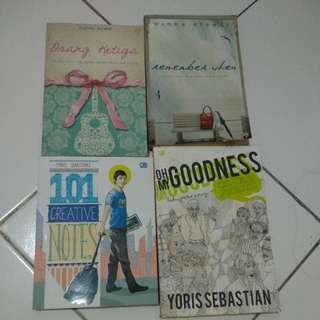 Buku Yoris Sebastian dan Novel