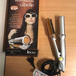 Catok hair instyler 2 in 1 pelurus dan keriting rambut