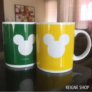 MICKEY MOUSE MUG SET