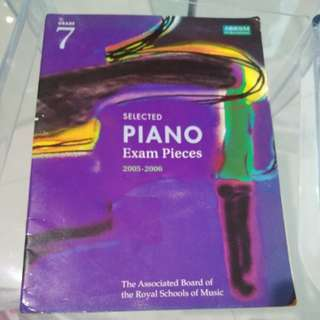 Selected piano exam pieces grade 7