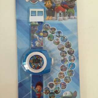 Birthday Party Gifts: Paw Patrol Projector Watch