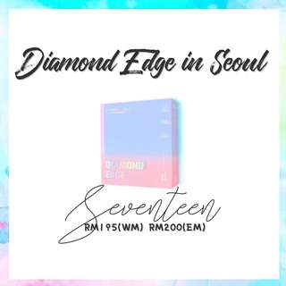 Preorder - Seventeen Diamond Edge In Seoul