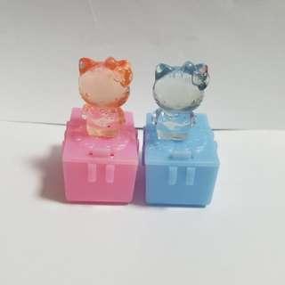 🈹罕有Hello Kitty(30週年版)公仔一對