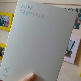 BTS Love yourself 專輯 E ver 全齊(連卡)
