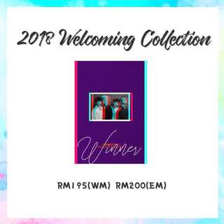 Preorder - Winner 2018 Welcoming Collection