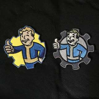 Fallout boy Velcro patch