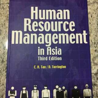 Human Resource Management in Asia