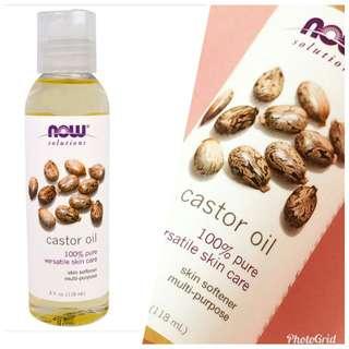 Freepos Now Foods Castor Oil