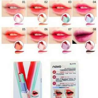 Two tone lip bar