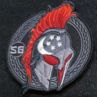 Spartan SG Morale Patch by Strato Gears.