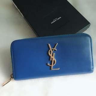 ysl long wallet