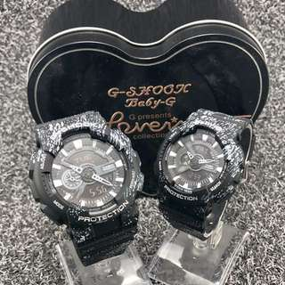 Marbles Gshock Couple