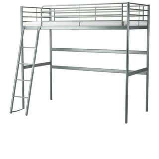 Svarta ikea bed frame