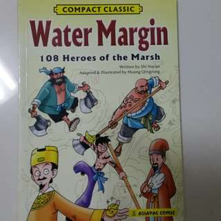 Water Margin Comic Book