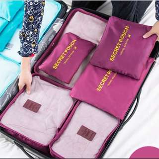 Travel organiser/Travel pouch/Luggage storage