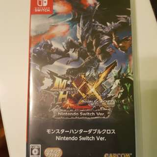 Monster Hunter XX for Nintendo Switch (JP)