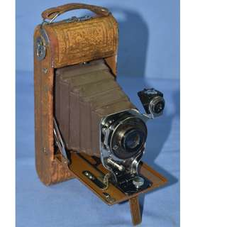 VINTAGE ANTIQUE ANSCO USA NO.1 READYSET ROYAL FOLDING CAMERA CIRCA 1920/30S