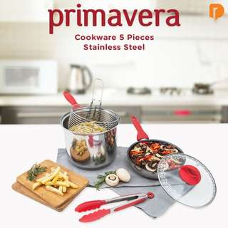 Primavera Cookware 5 pca Stainless Steel