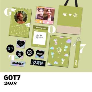 GOT7 SEASON GREETING