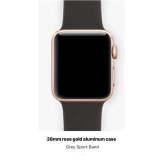 Apple Watch Rose Gold series 2 38mm