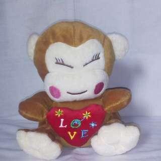 Boneka Monkey Brown