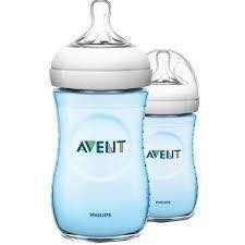 Avent Natural Blue Bottle