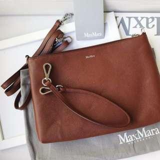 全新 MAX MARA Shoulder Bag Leather Pouch