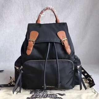 Burberry rucksack Backpack Black Colour