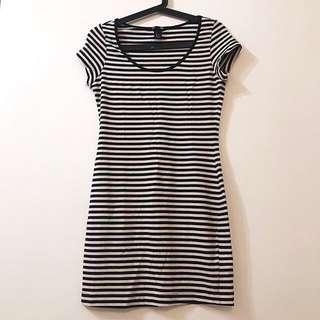 H&M 連身裙 緊身裙 打底 One-piece Dress