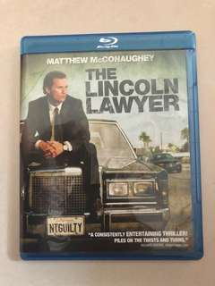 The Lincoln Lawyer (bluray)