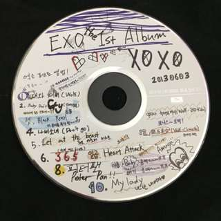 exo xoxo kiss ver. cd