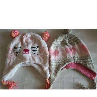 Baby Girl Beanies/Knitted Caps