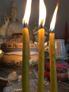 Wishing Candle Kruba Ariyachart