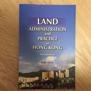 Land administration and practice in hk