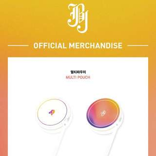 Quick Preorder! JBJ OFFICIAL GOODS - MULTI POUCH