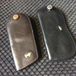 Motorcar Braun buffel Key Pouch