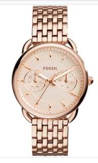 Fossil Watch (Rose Gold)