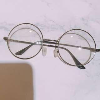 哈利波特眼鏡 文青眼鏡 平光 可愛
