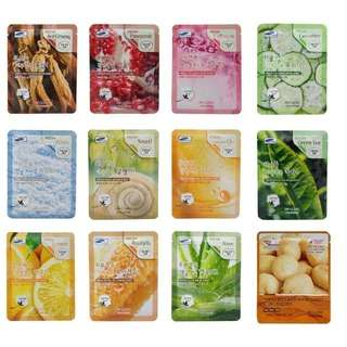 3W Clinic Face Mask Sheets